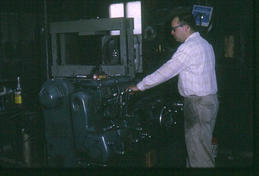 1970 - Founder Ron Akey