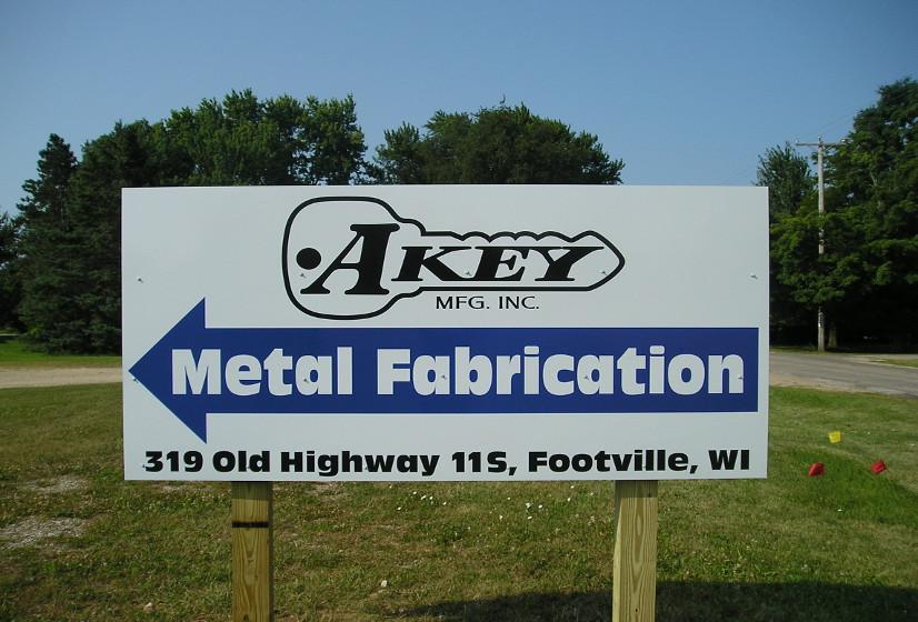 Akey Mfg Sign